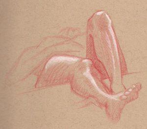 foreshortened-legs-study