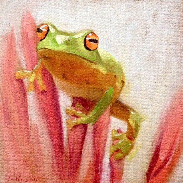 Tree Frog by Dan Johnson