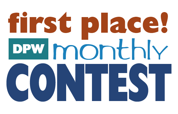 I am a winner in the Daily Paintworks Monthly Contest!
